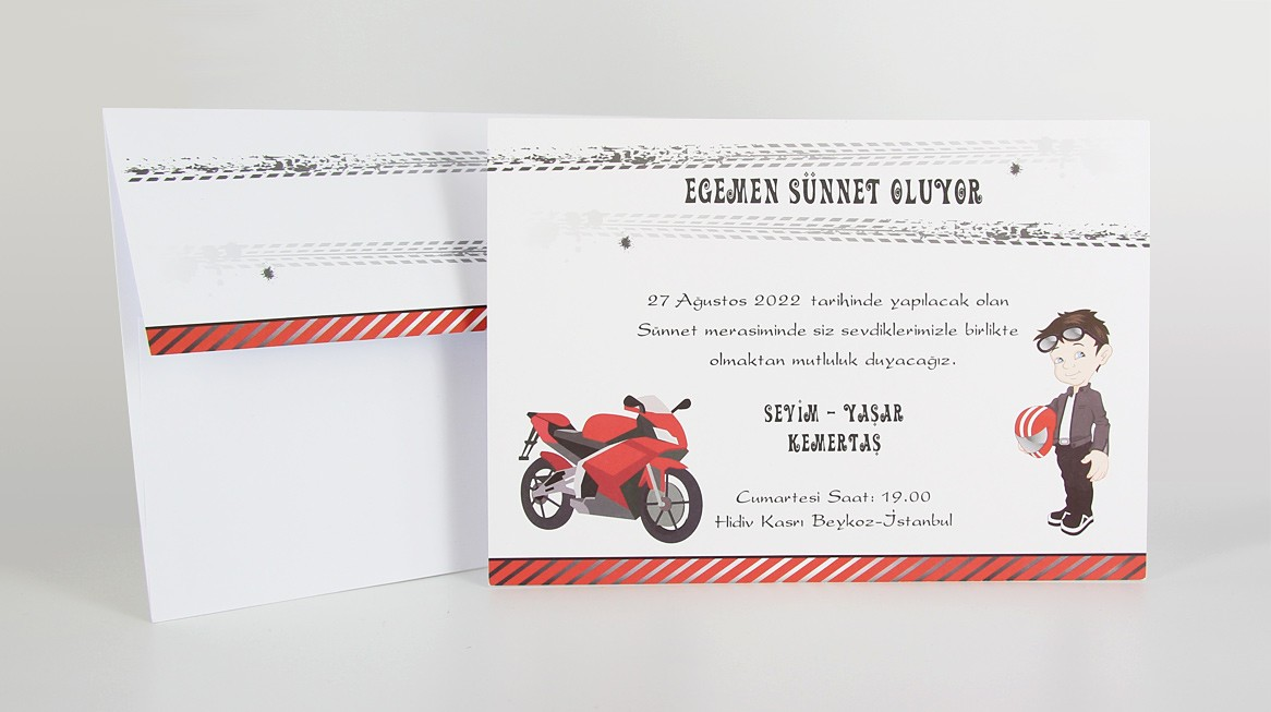 Einladungskarte 80975