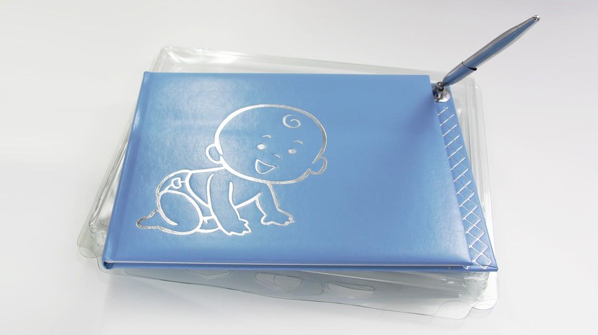 4527 - Gästebuch blau