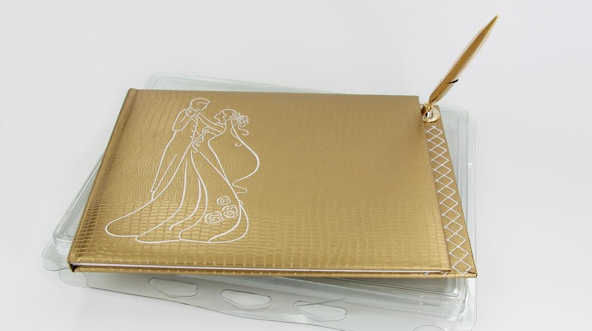 4531 - Gästebuch Gold